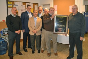 Kawneer Recognizes Hershocks for 80-year Partnership